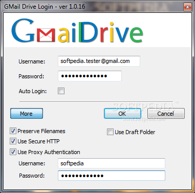 gmail drive softpedia