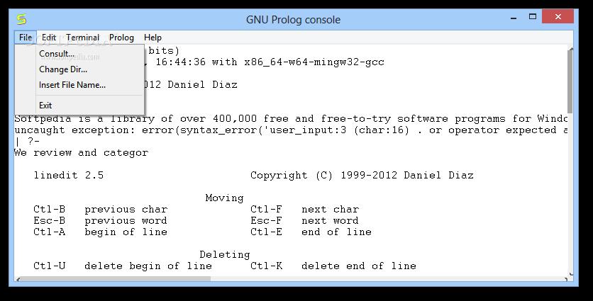 gnu prolog gratuit
