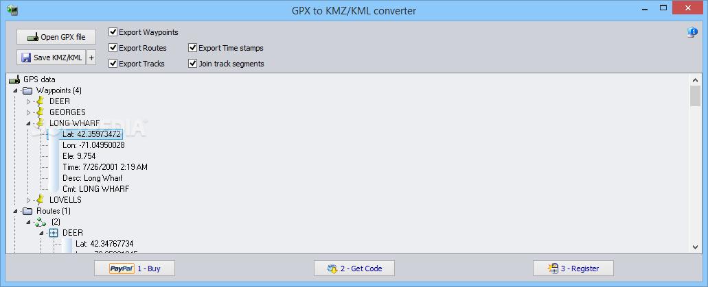 Kml Conversion Software