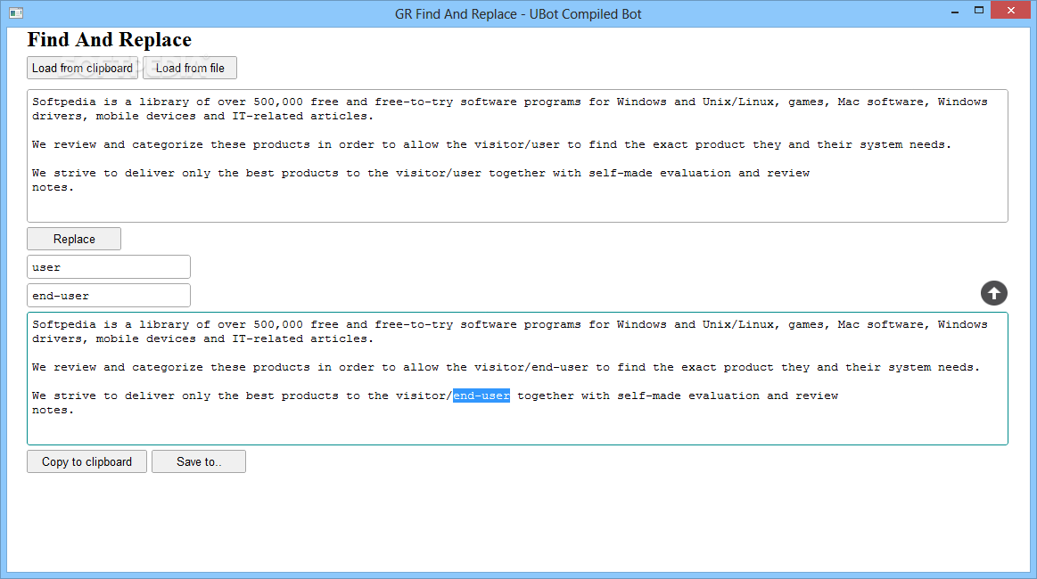 Download GR Find And Replace 1.0 on