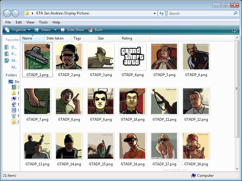 Download GTA San Andreas Display Pictures 1 0