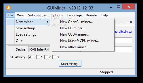 windows cpu bitcoin miner qt bitcoin trader esercitazione