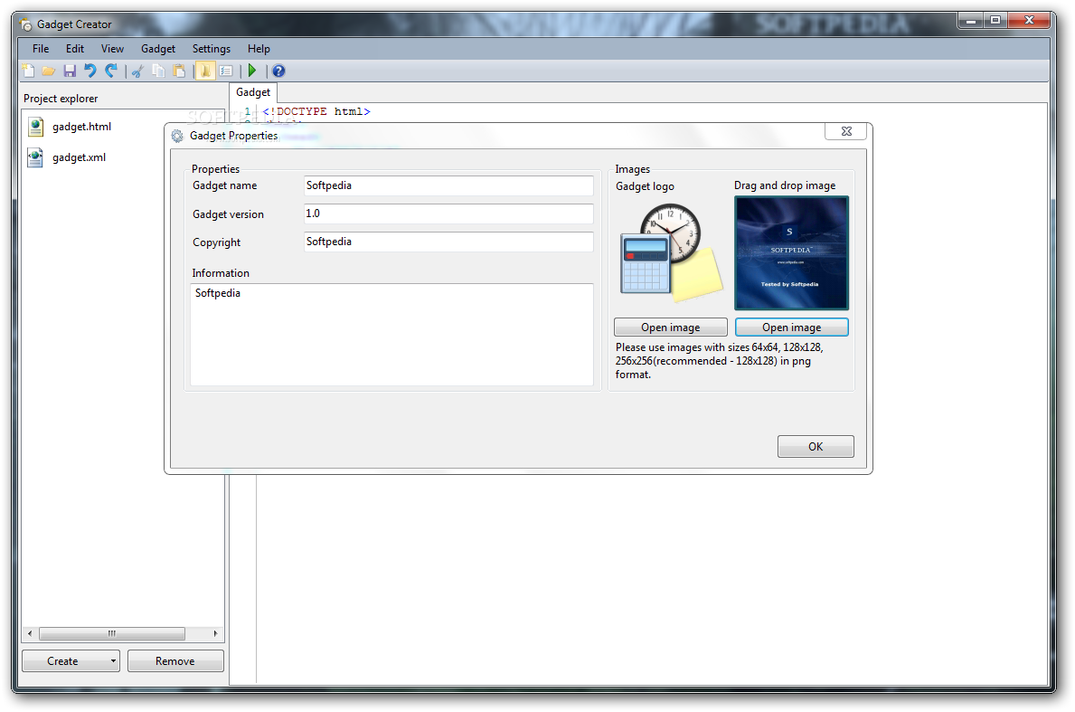 Download Gadget Creator Build 1002 RTM