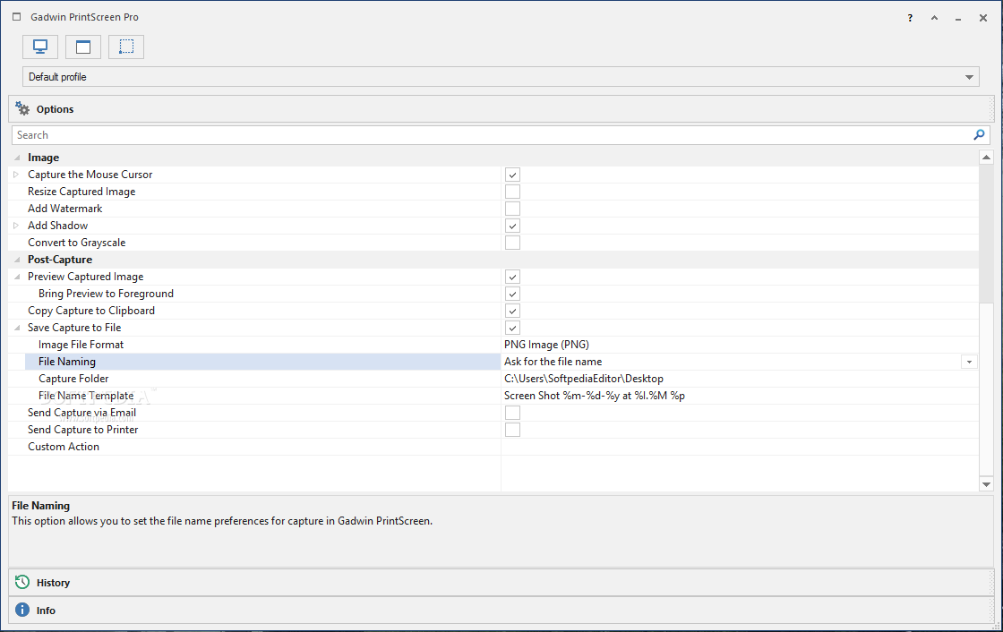 Gadwin Print Screen Windows 7 free download