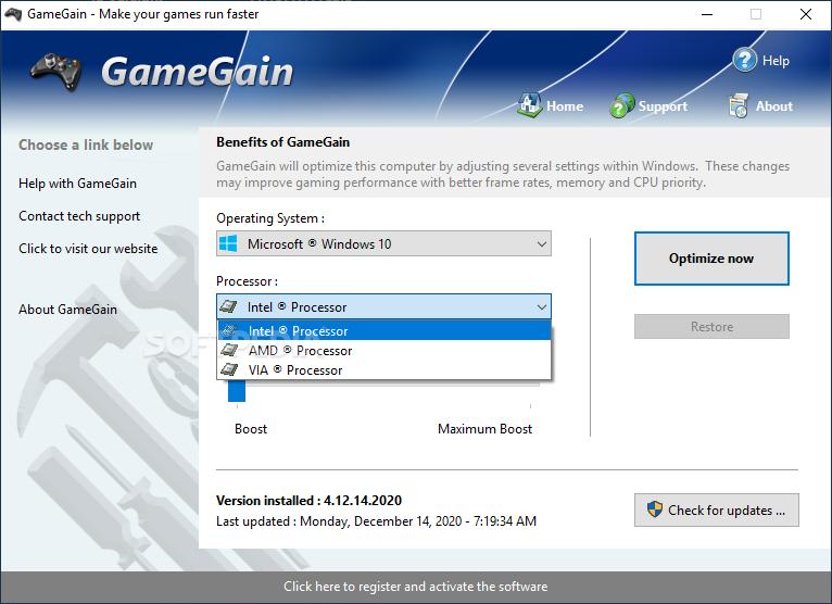 PGWare GameGain 4.1.11.2021 + Key [Latest] Free Download