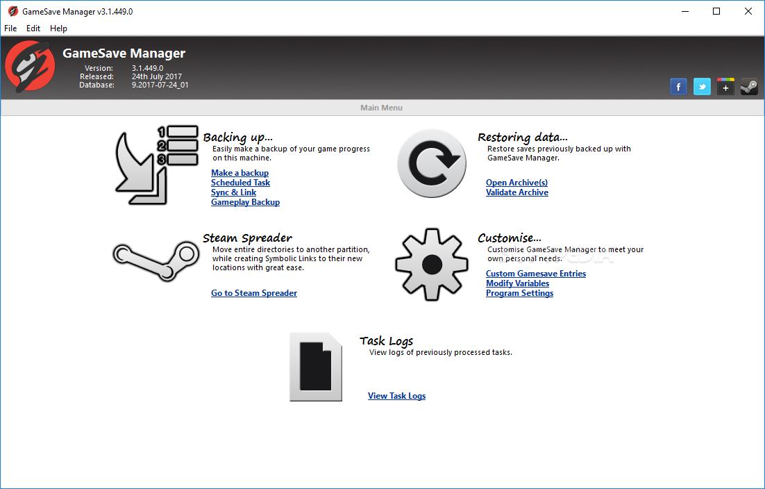 Download GameSave Manager 3 1 455 0 / 4 0 090 0 Alpha