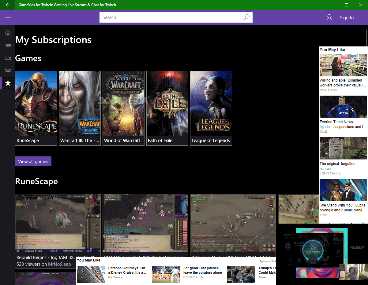 Download GameVids for Twitch: Gaming Live Stream & Chat for
