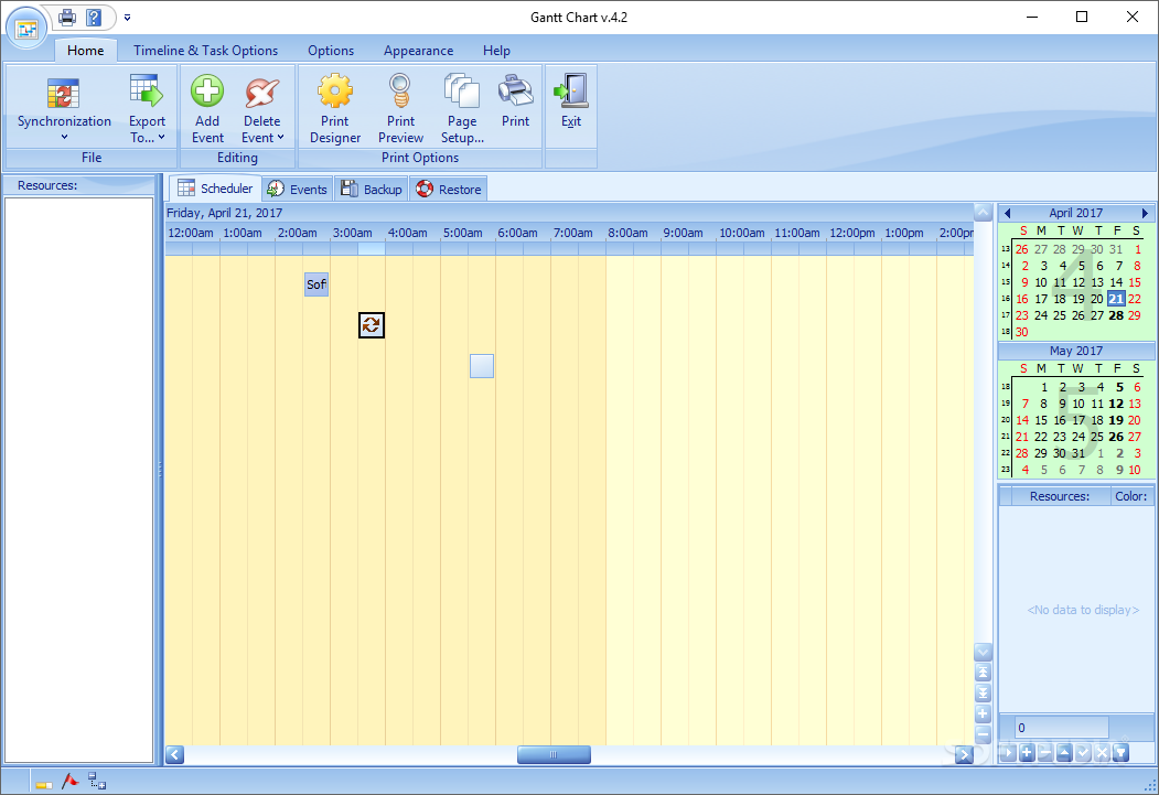 Download Gantt Chart 43