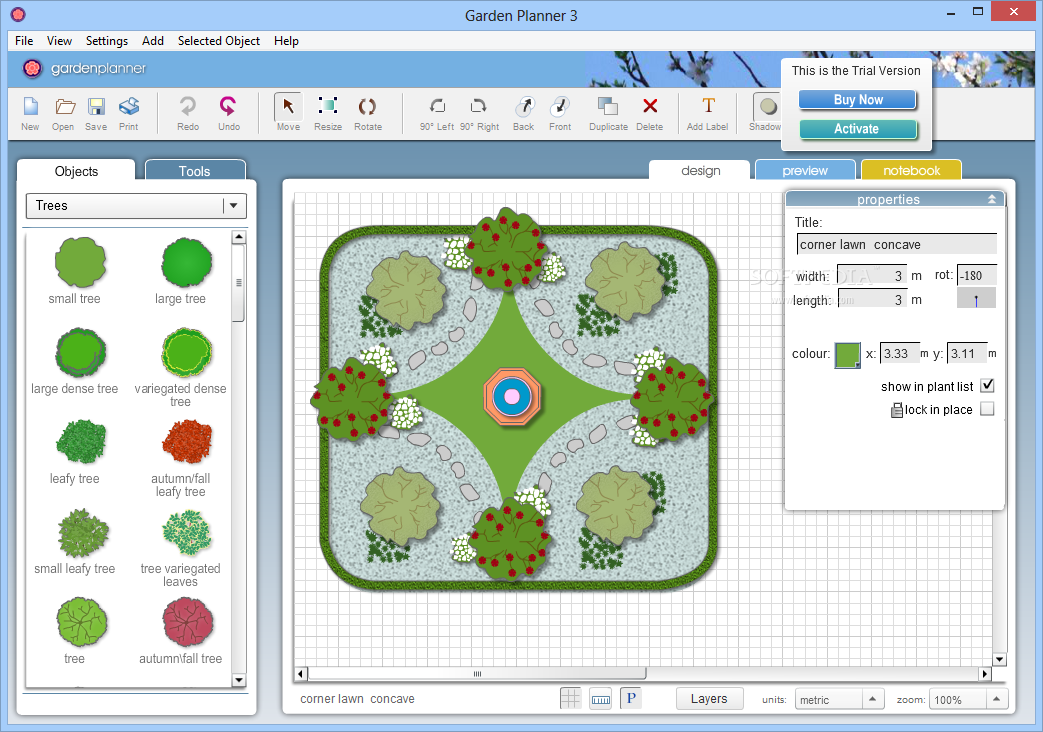 Image result for Artifact Interactive Garden Planner 3.7.25