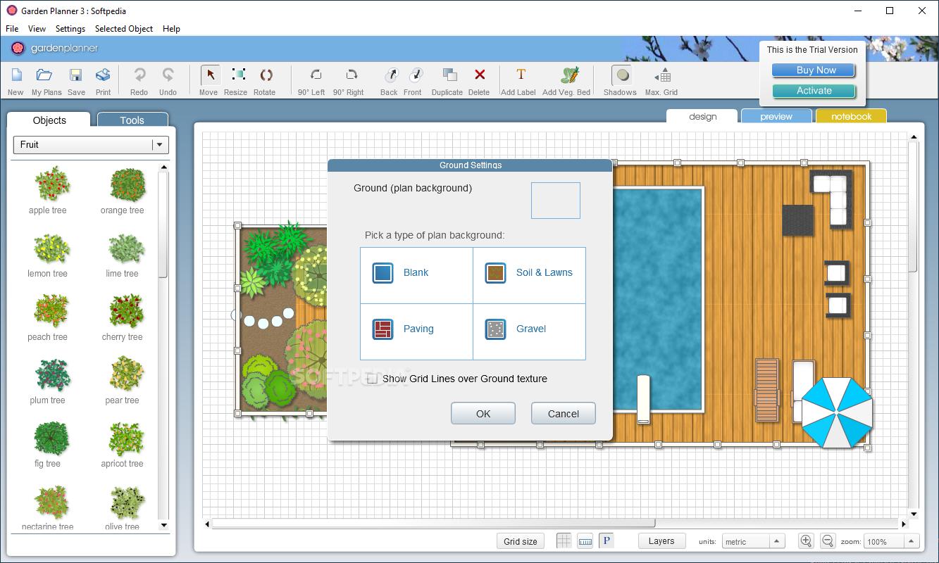 download garden planner 3 7 6. Black Bedroom Furniture Sets. Home Design Ideas