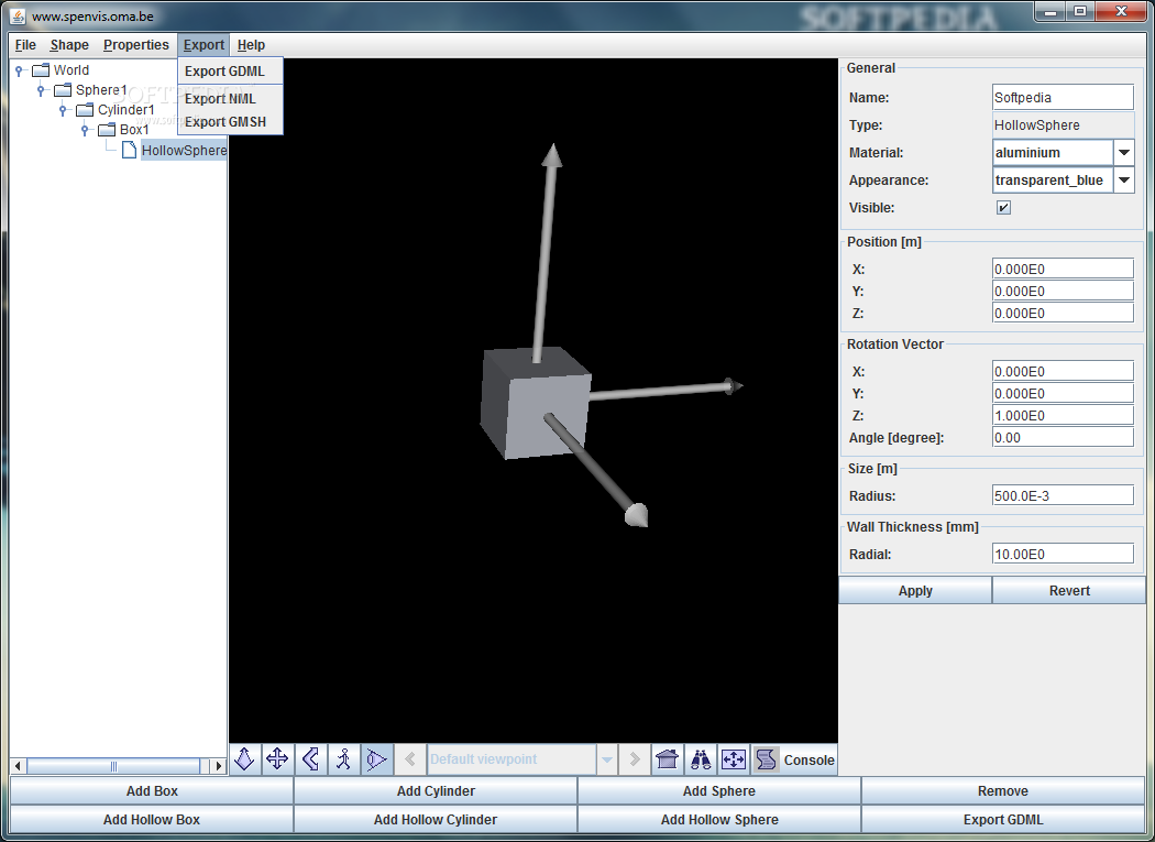 Download geometry definition tool for spenvis 11 ccuart Image collections