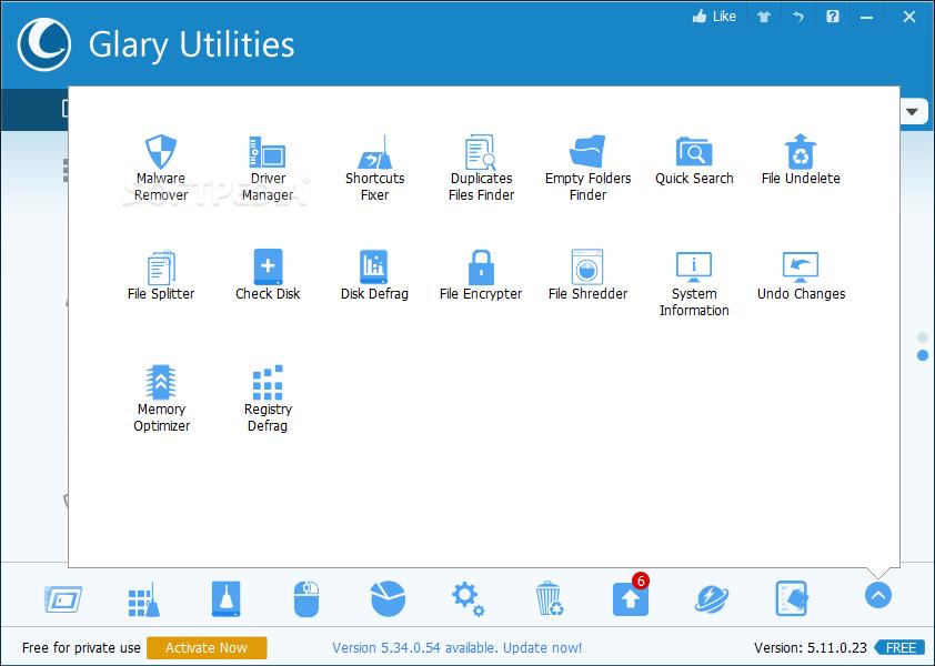 free glary utilities for windows 7