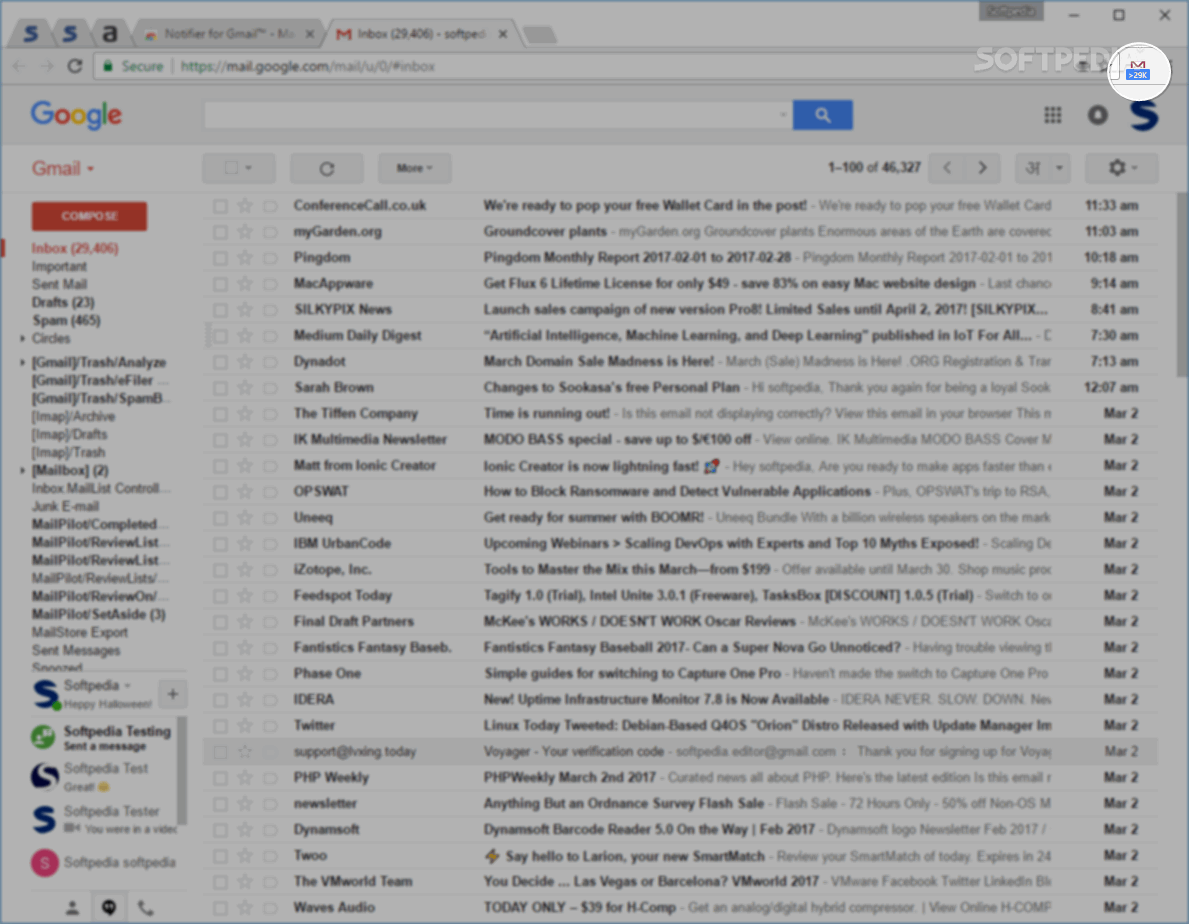free download gmail notifier for windows 7