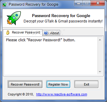 Password Recovery for Google (formerly Gmail Password ...