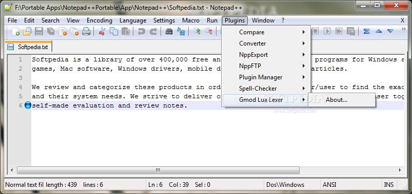 Download Gmod Lua Lexer 1 5