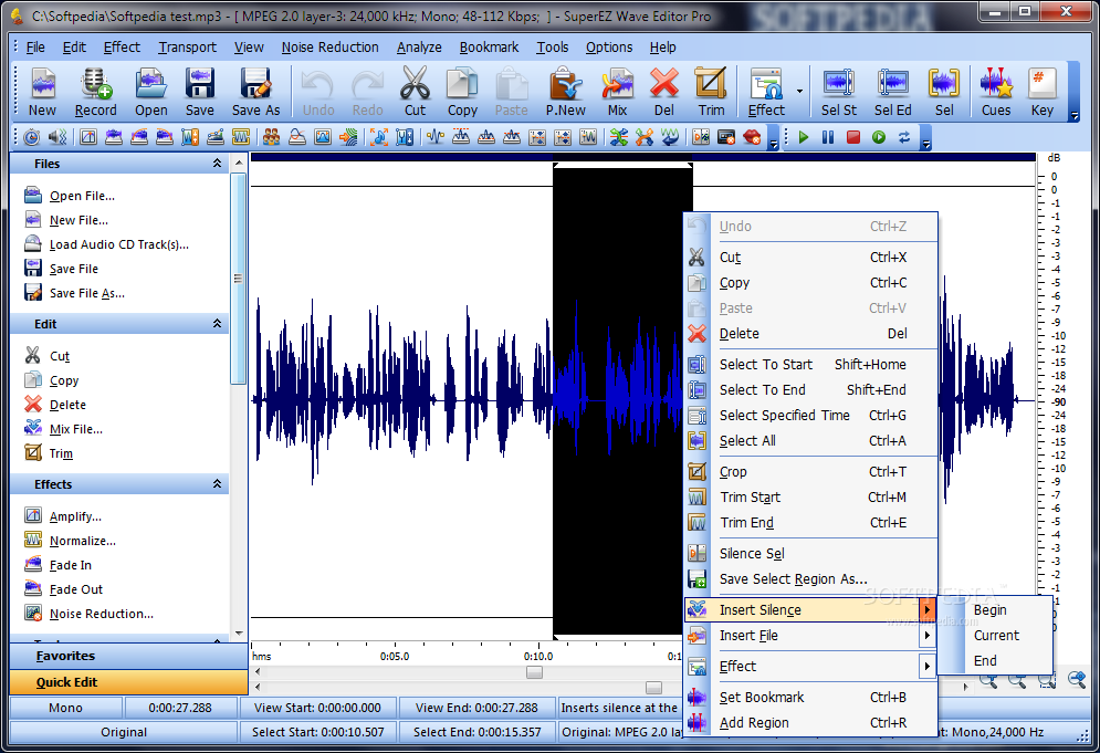 Download SuperEZ Wave Editor Pro 7 8 2