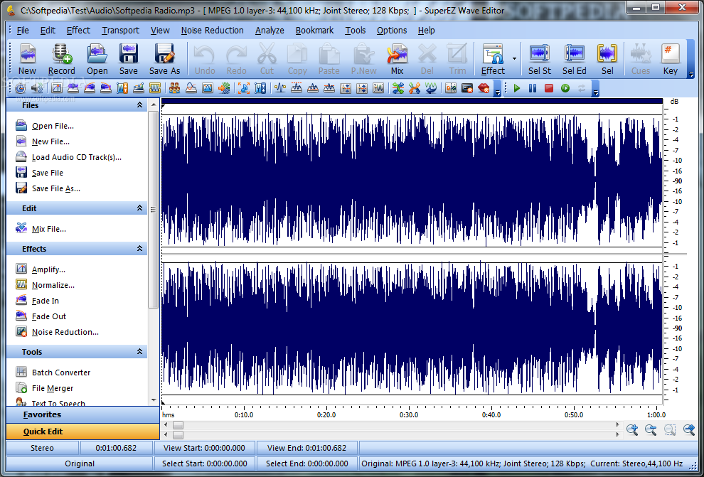 Download SuperEZ Wave Editor 12 2 5