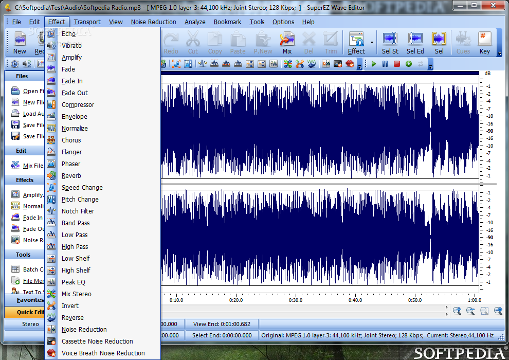 Audio Editing Software. Sound Music Voice & Mp3 Editor