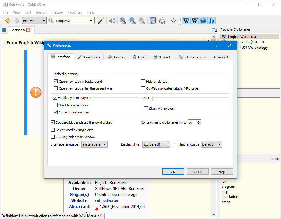 Download GoldenDict 1 0 1 / 1 5 0-RC2-372 Early Access