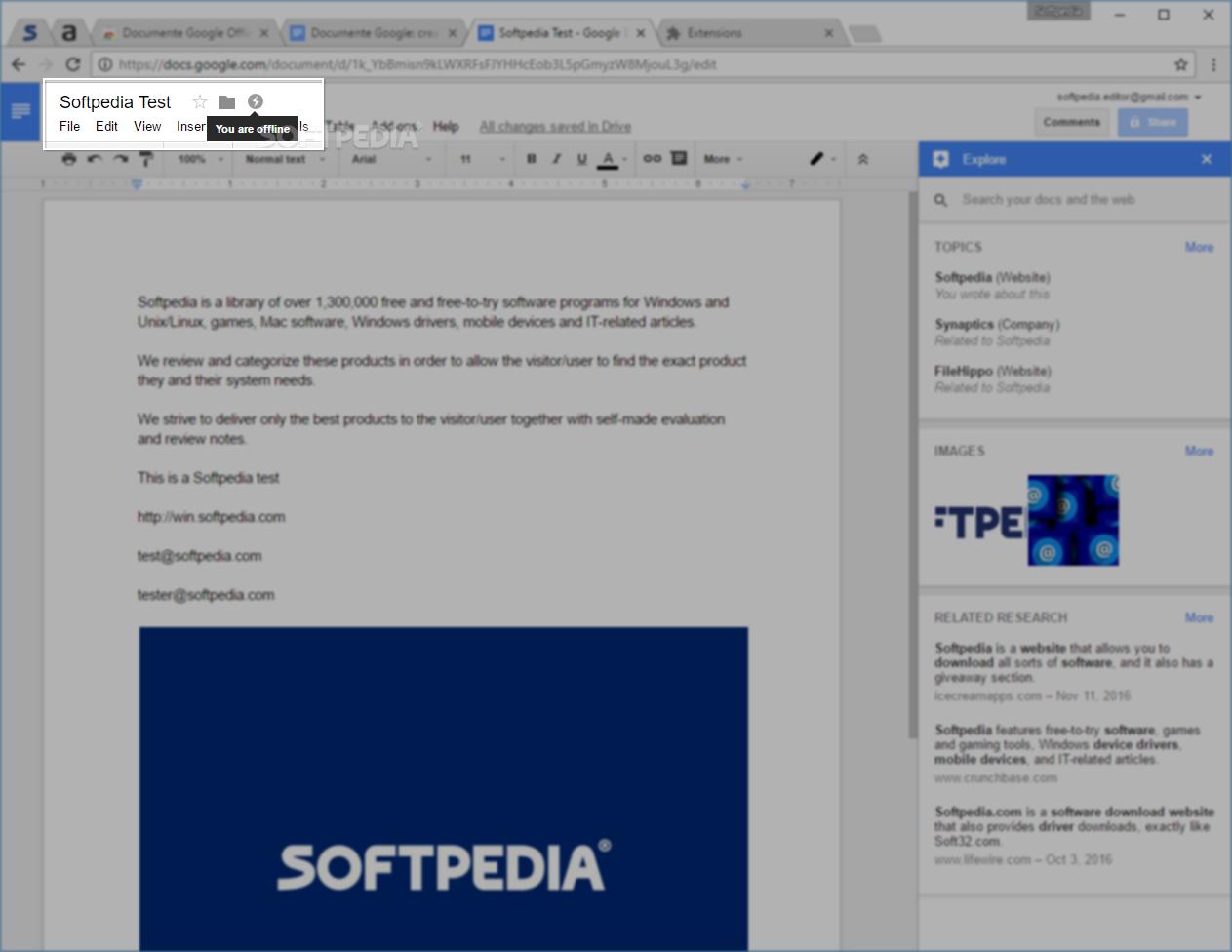 Download Google Docs Offline 1 7