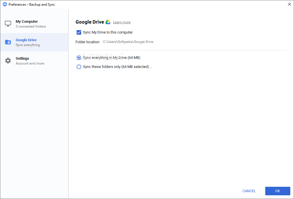 how to download from google drive data to windows 7