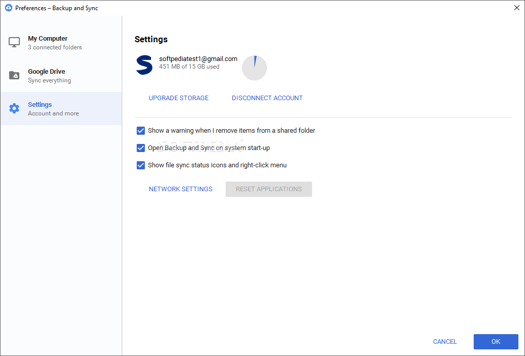 how to backup windows 10 on google drive