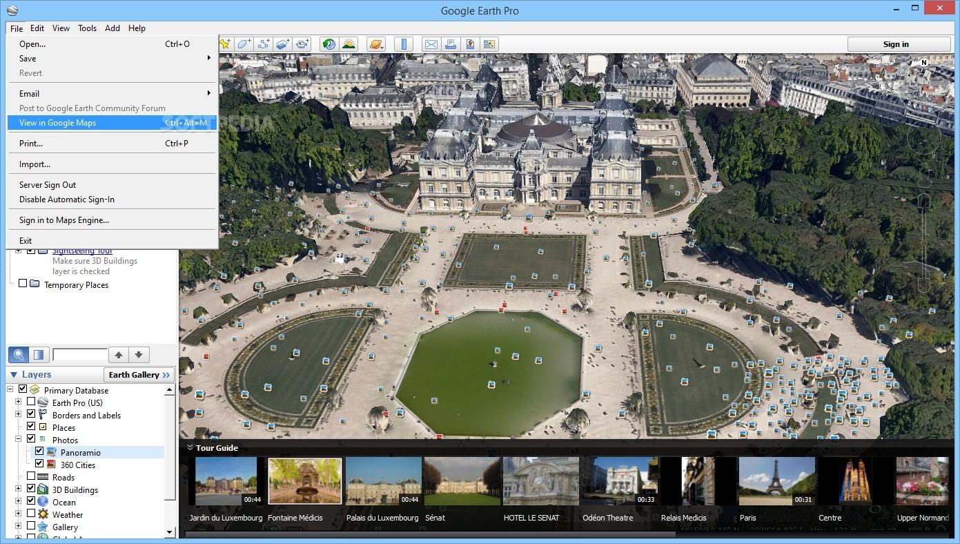 Download Google Earth Pro 7 3 2 5776