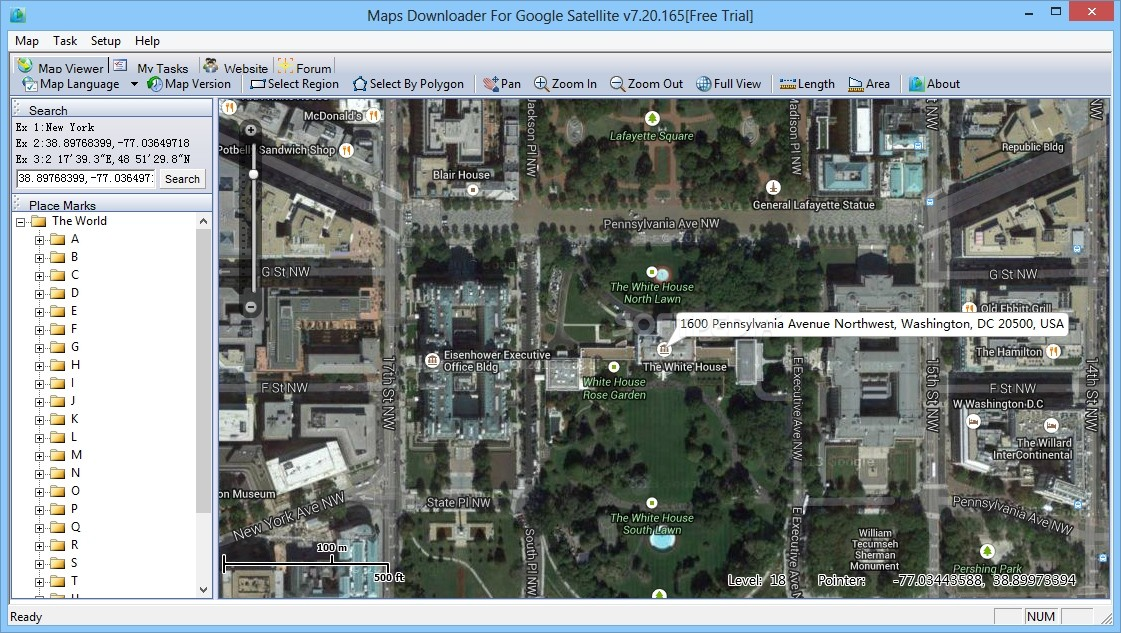 Download Maps Downloader For Google Satellite - Search satellite maps