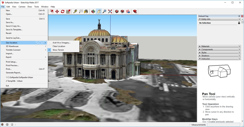 Download SketchUp Make 16 1 1450 32-bit / 17 2 2555 64-bit