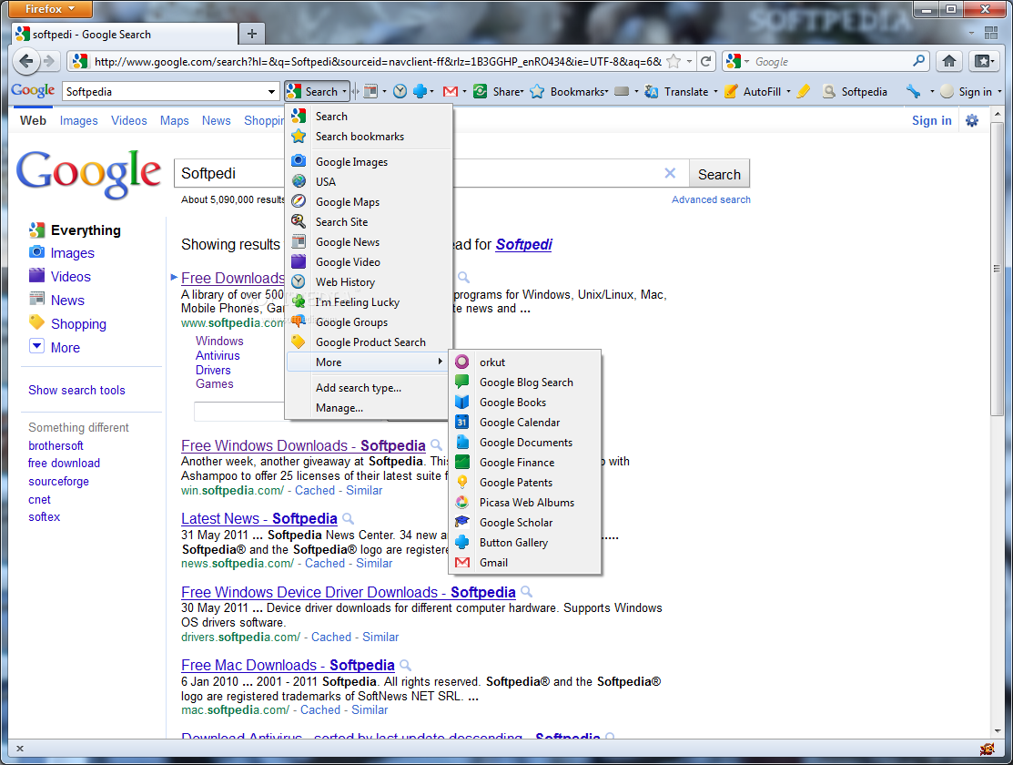 Google Toolbar for Firefox Download