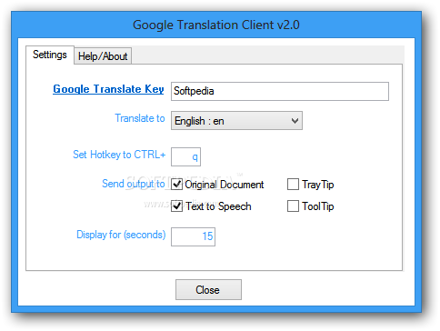 how to get goigle translate database