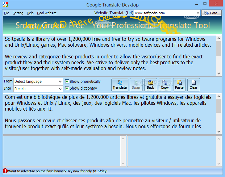 Download Google Translate Desktop 2 2 18