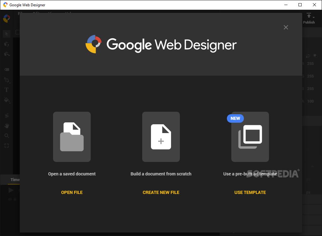 Download Google Web Designer 9 0 1 0902