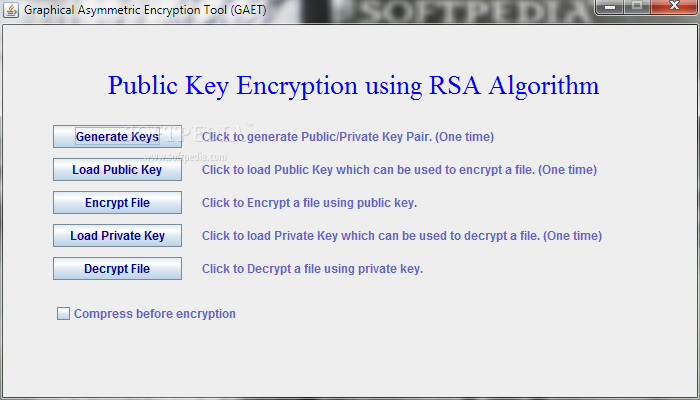 Download Graphical Asymmetric Encryption Tool