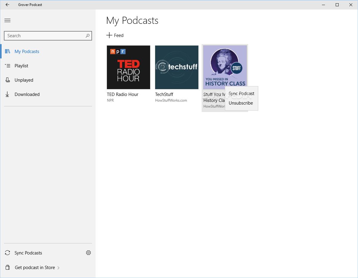 Grover podcast