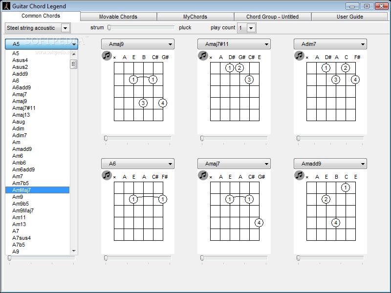 Download Guitar Chord Legend 10