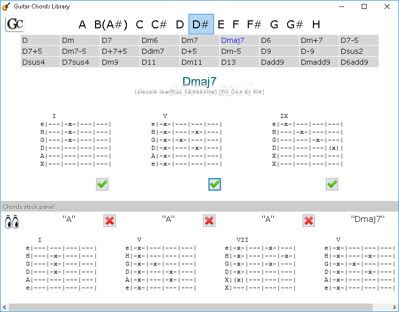Download Guitar Chords Library 100