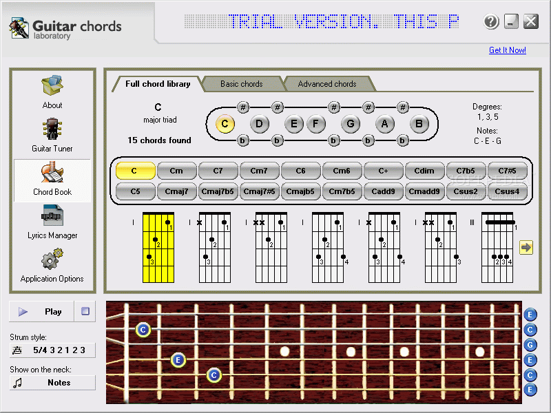 Download Guitar Chords Laboratory 153