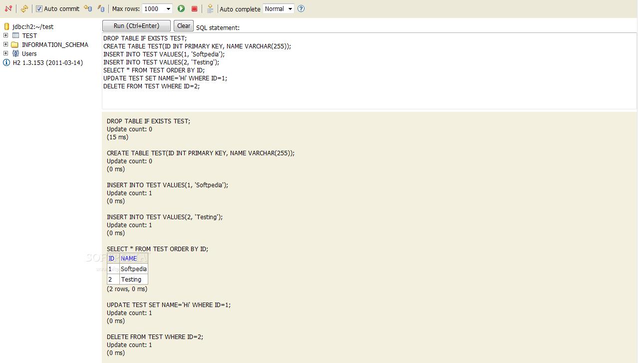 Download H2 Database Engine Portable 1 4 199