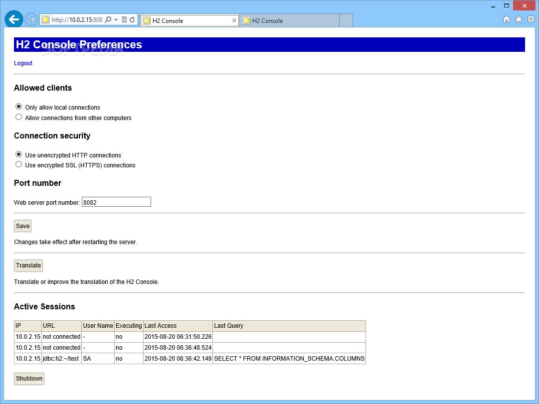 Download H2 Database Engine 1 4 199