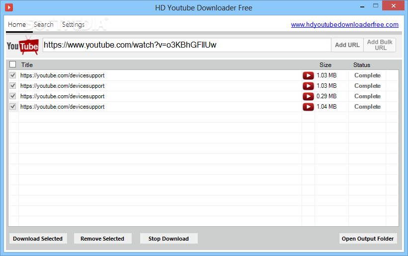 Download HD YouTube Downloader Free 1 0 0 0