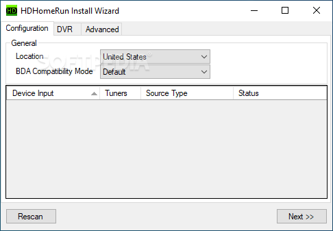 Download HDHomeRun 20190205 Desktop / 1.1.272.0 Store App