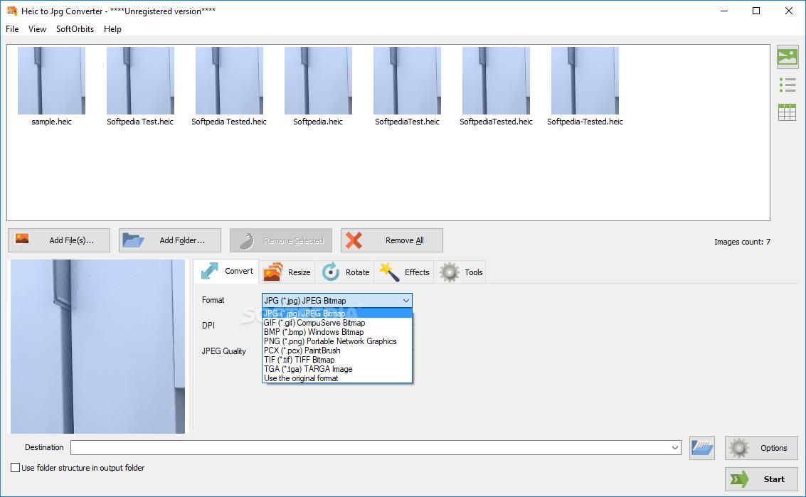 convert heic files to jpg