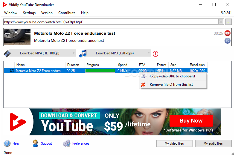 Download Viddly Youtube Downloader 5 0 294