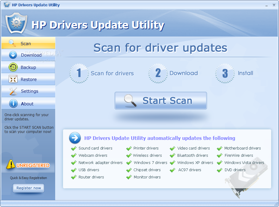 hp driver updater free download