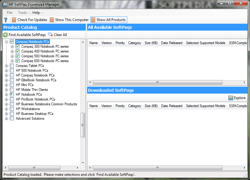 Download HP SoftPaq Download Manager 3 2 0 0 REV  A