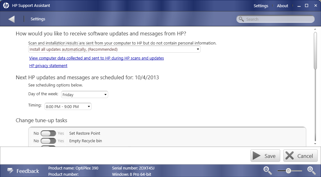 Download HP Support Assistant 8.6.18.11