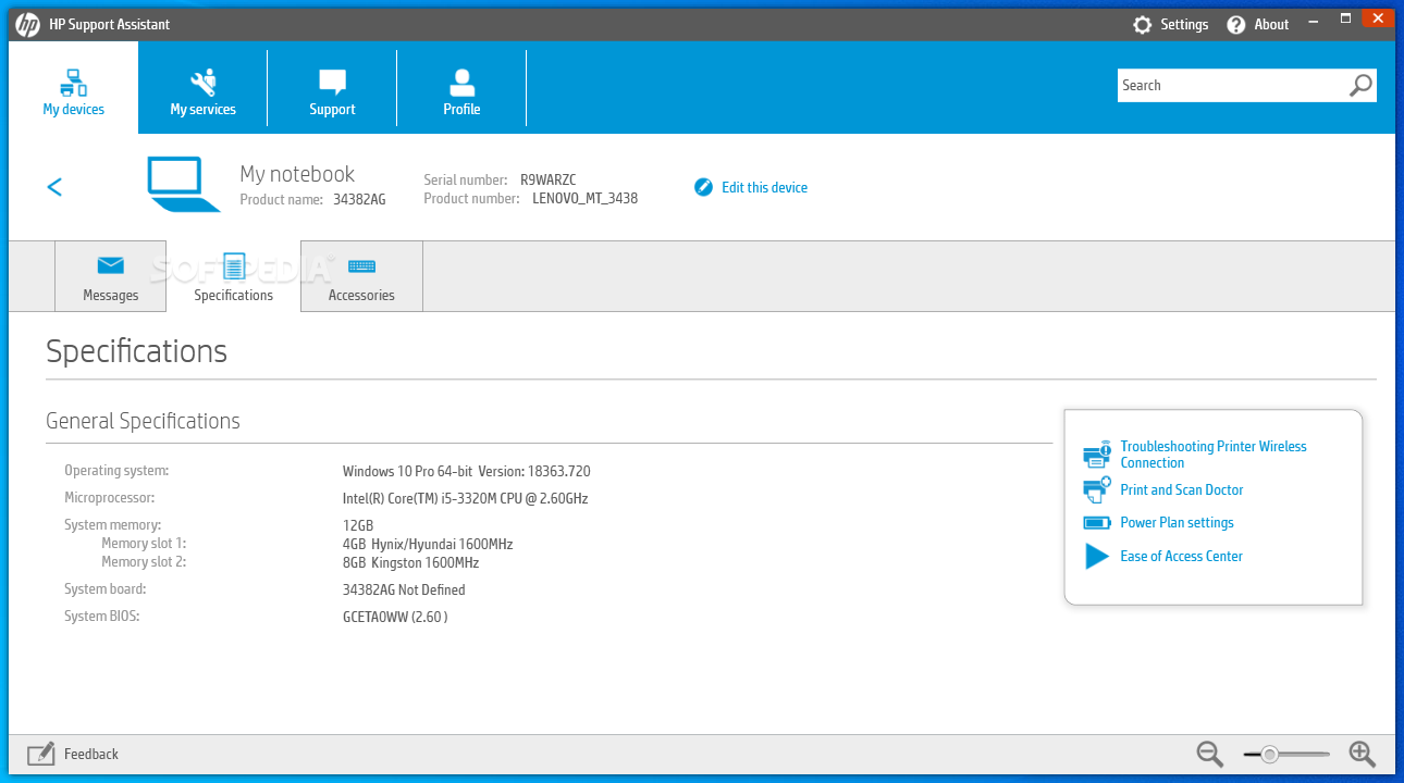 Download HP Support Assistant 8 6 18 11