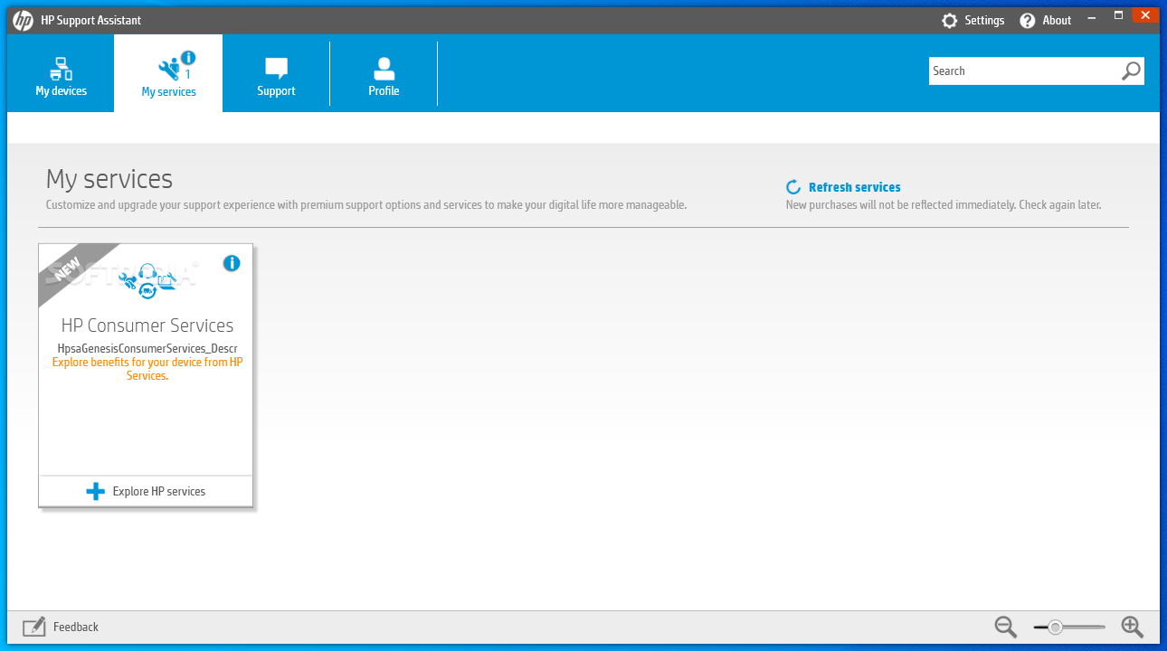Download HP Support Assistant 8.5.37.19