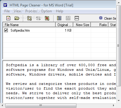 Download HTML Cleaner for Word 1.6 Build 100105 incl Crack ...